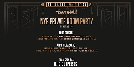 ROARING INTO 2020 @ TOWNHALL OR NOWHERE NYE tickets