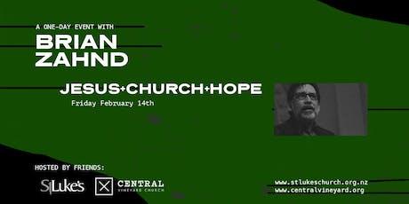 Brian Zahnd - Jesus+Church+Hope tickets
