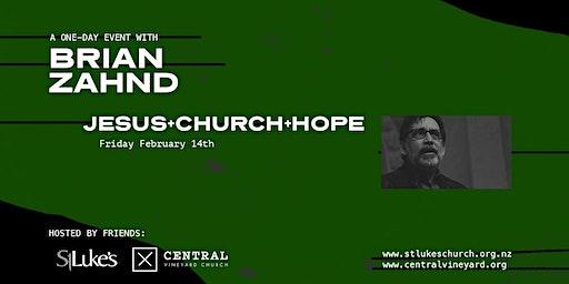 Brian Zahnd - Jesus+Church+Hope