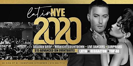 Latin New Years Eve 2020 BASH inside Elements Nightclub Kitchener tickets