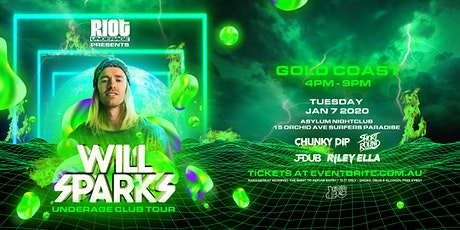 Will Sparks Under18s Club Tour •  Gold Coast tickets