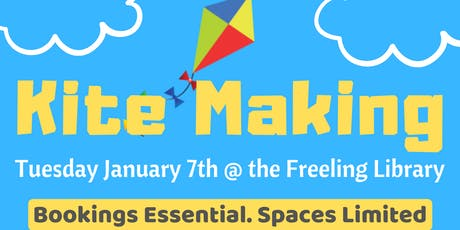 School Holidays - Kite Making @ Freeling Library tickets