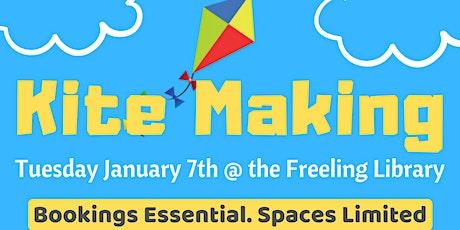 School Holidays - Kite Making @ Freeling Library tickets