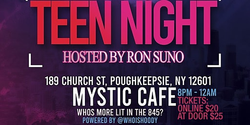 Teen Night In PoughkeepsieHosted By RON SUNO