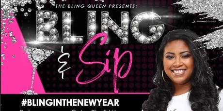 Bling and Sip with The Bling Queen tickets