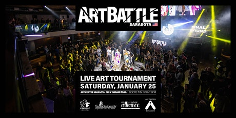 Art Battle Sarasota - January 25, 2020 tickets