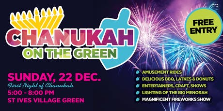 Chanukah on the Green Jewish Festival tickets