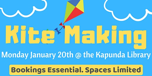 School Holidays - Kite Making @ KapundaLibrary