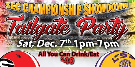 SEC Championship Showdown Tailgate Party tickets