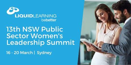 13th NSW Public Sector Women's Leadership Summit tickets