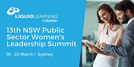 13th NSW Public Sector Women's Leadership Summit tickets