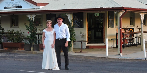 Valentines Weekend Package for 2 JUST $500 Club Boutique Hotel Cunnamulla