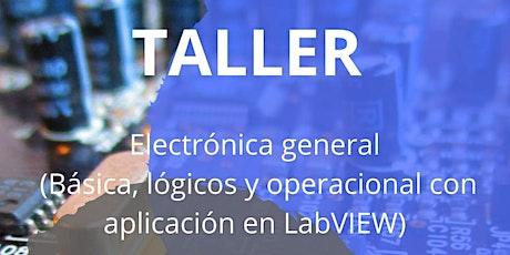 Taller Electrónica general boletos