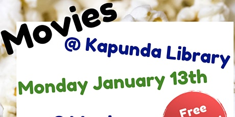 School Holidays - Movies @ Kapunda Library tickets