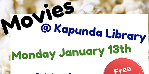 School Holidays - Movies @ Kapunda Library