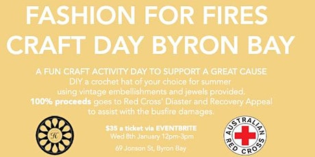 FASHION FOR FIRES ARTS AND CRAFTS CHARITY EVENT tickets