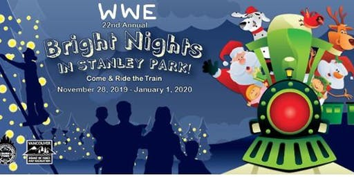 Women who explore Vancouver: Bright nights at Stanley park