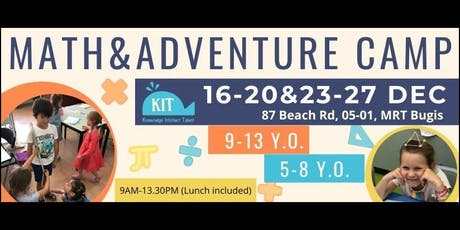 Math&Adventure Camp tickets