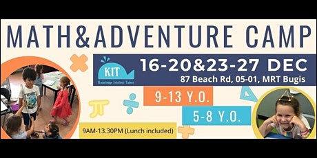 Math&Adventure Camp tickets