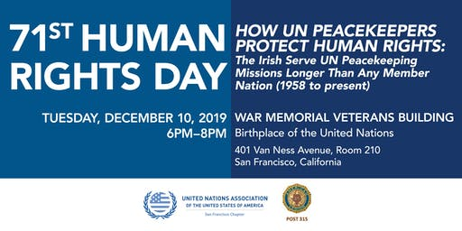 71st Human Rights Day Celebration: UN Peacekeeping