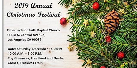 2019 Annual  Christmas Festival tickets