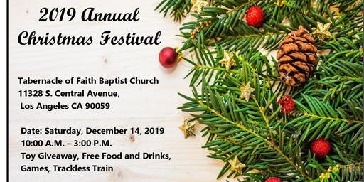 2019 Annual  Christmas Festival