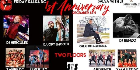 Friday Salsa DC ☆ The Anniversary ☆ tickets