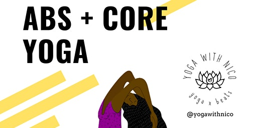 Abs + Core Yoga ft @blacknketo (Donation Based)