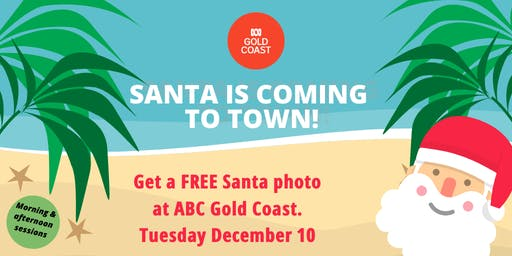 FREE Santa photos with ABC Gold Coast