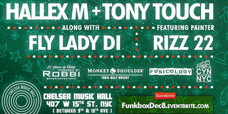 Funkbox December 8th with Tony Touch, Hallex M and Fly Lady Di tickets