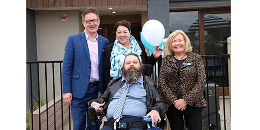 Ground-breaking accessible display home