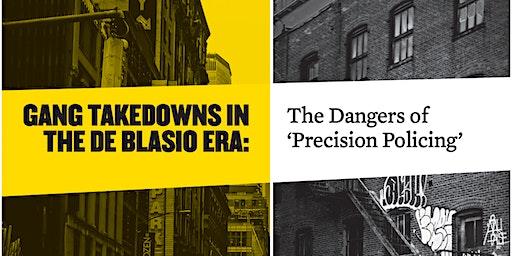 Report Launch – Gang Takedowns in the de Blasio era