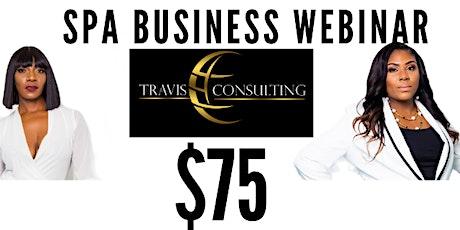 Spa Business Webinar entradas