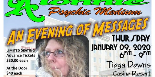 Evening of Messages w/Alonnie Psychic Medium