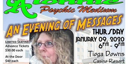 Evening of Messages w/Alonnie Psychic Medium