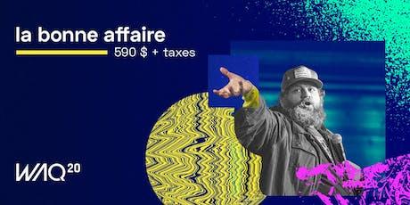 Web à Québec 2020 (WAQ20) tickets