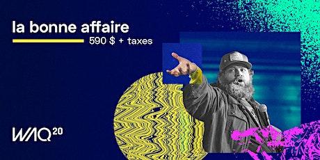 Web à Québec 2020 (WAQ20) billets