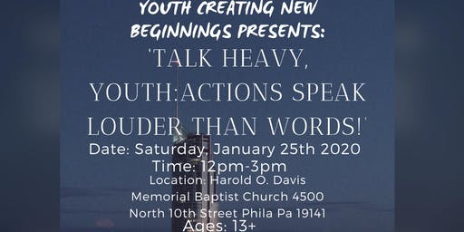 Talk Heavy, Youth: Actions Speak Louder Than Words!