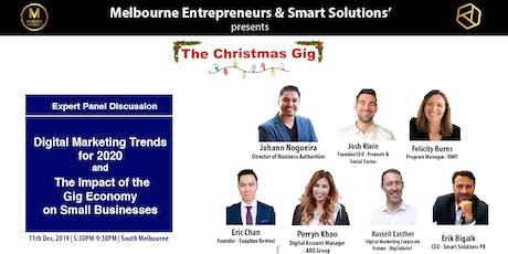 Melbourne Entrepreneurs: The Christmas Gig tickets