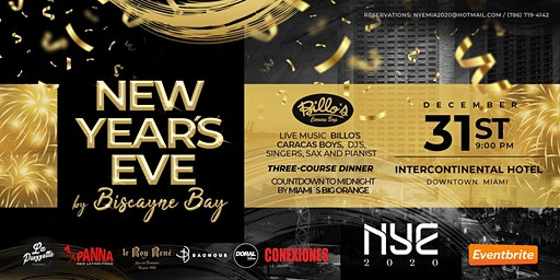 New Year's Eve by Biscayne Bay  at the Intercontinental Miami Downtown
