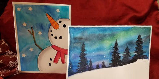 Watercolor Holiday Cards