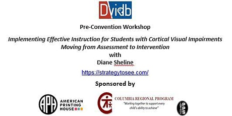 DVIDB Workshop with Diane Sheline - Cortical Visual Impairments tickets