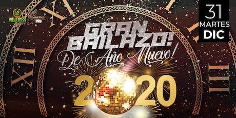 GRAN BAILAZO DE AÑO NUEVO tickets
