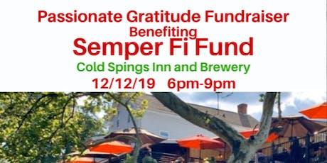 Passionate Gratitude, Inc Fundraiser - Benefiting Semper Fi Fund tickets