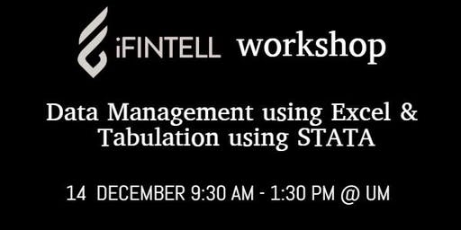 iFINTELL Workshop on Data Management in Excel & Tabulation in STATA
