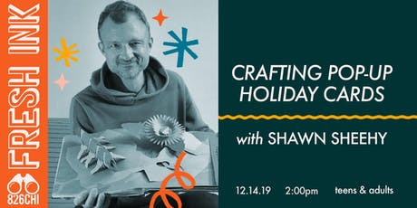 FRESH INK: Crafting Pop-Up Holiday Cards tickets