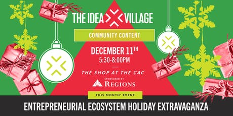 Entrepreneurial Ecosystem Holiday Extravaganza tickets