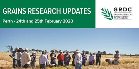 GRDC Grains Research Update Perth tickets