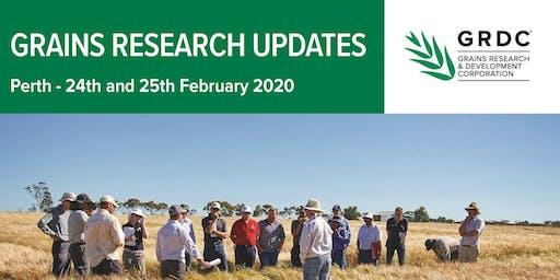 GRDC Grains Research Update Perth