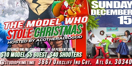 The Model  Who Stole Xmas, Naughty or Hottie Powershoot/Contest tickets